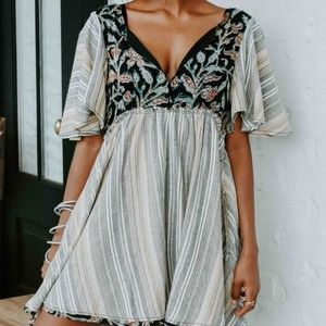 Free People Under The Sun Babydoll Mini